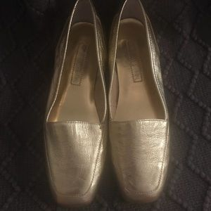 Enzo Angiolini Gold Flats - Size 6